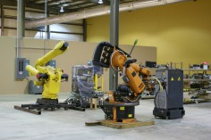We have 5 in-house robots
